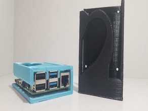 Raspberry Pi 4/4b Case (No supports - Single Print - Mountable version included)