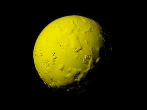 Io with known topography scaled one in twenty million