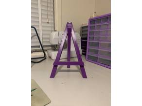 Mini caballete easel - less support