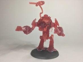 Grimdark Mars Robot