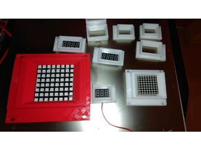 Small LED and TFT panels, R2D2-ish style LED panel