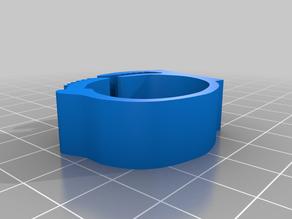 Adjustable leg ring