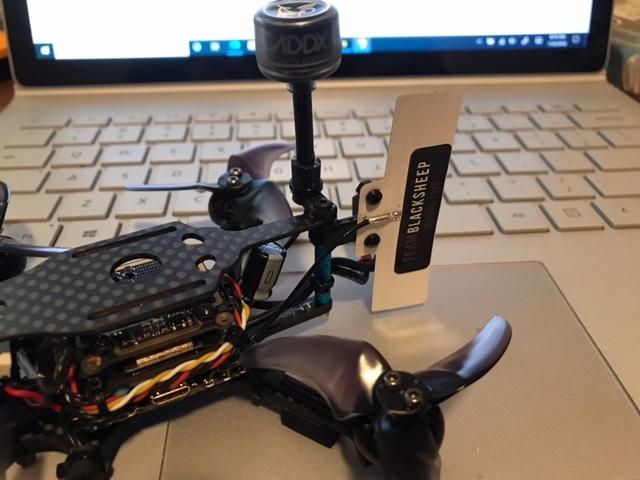 VAS 915mhz crossfire pro antenna mount
