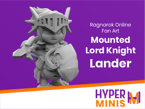 Chibi Lord Knight Lander | Ragnarok Online Fan Art