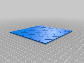 Aluminium tread plate sheet