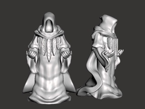 Guild Mage (with Sculptris dummy) (32mm scale)