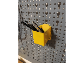 Küpper Pegboard Mounts for Stanley/Harbor Freight Organizer Boxes
