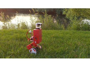 Self-Balancing Robot MABEL (Multi Axis Balancer Electronically Levelled)