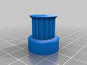 My Cutest pulleystomized Parametric Pulley Library - Customizer Optimized