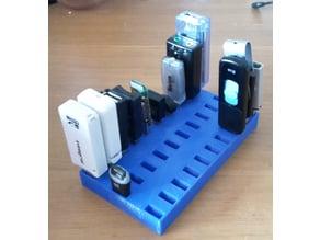 USB Storage Box With Spacing Parametric Customizable