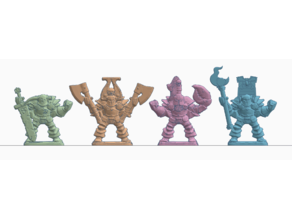 Heroquest Marked Chaos Warriors