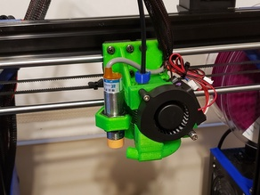 A8 AM8 E3D V6 bowden print carriage 18mm sensor