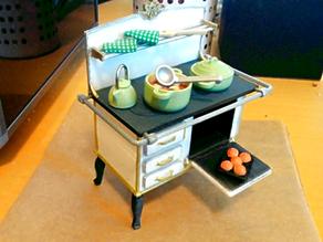 Kohleherd / coal cooker