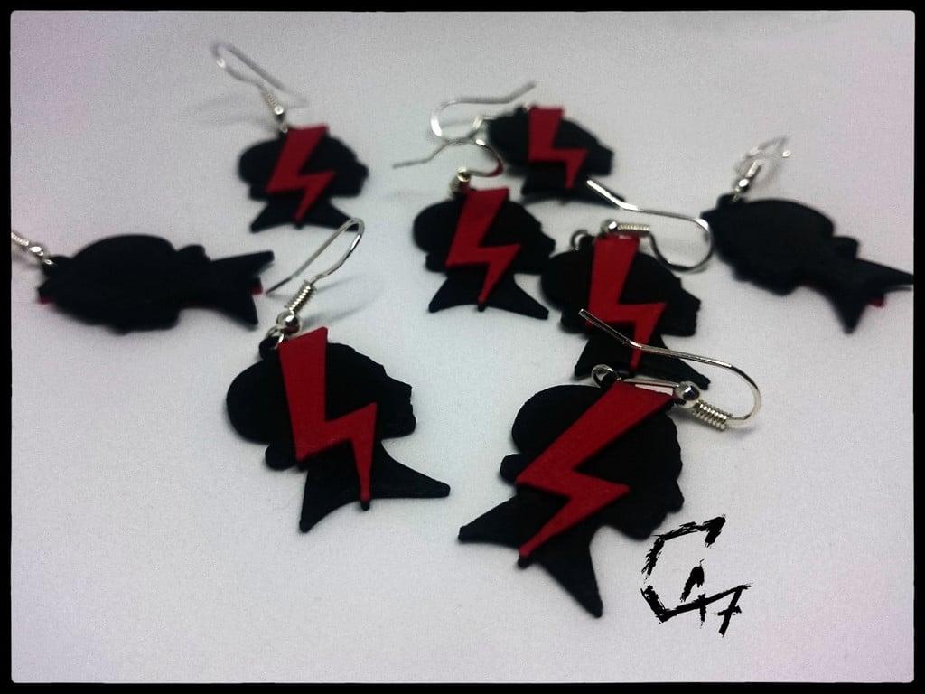 'Strajk Kobiet' earrings