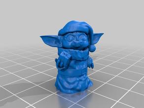 Baby Yoda X-mas Outift