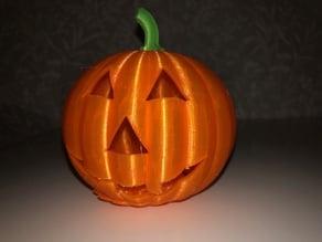 Hollow Halloween Pumpkin