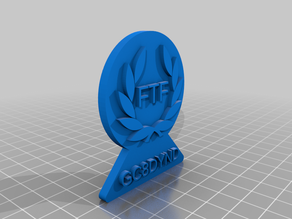 My Customized FTF geocoin