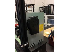 Electric transformer fan guard