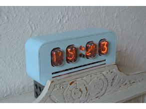Nixie Clock Case in-12