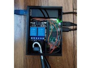 Network Ethernet Relay Box (Raspberry Pi Zero)