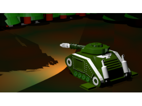 """Hosytian Surnamel """"Last-Name"""" Main Battle Tank"""