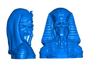 Undead Pharaoh Refrigerator / Whiteboard Magnets