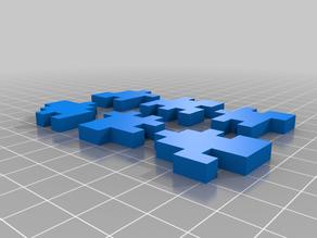 6 piece cube puzzle