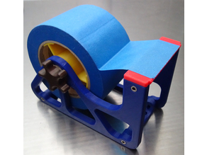 Tape Dispenser, 3-inch Blue or Shipping Tape