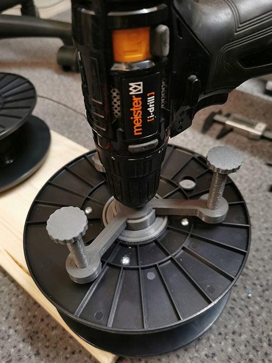 Filament Wickler aus HDD