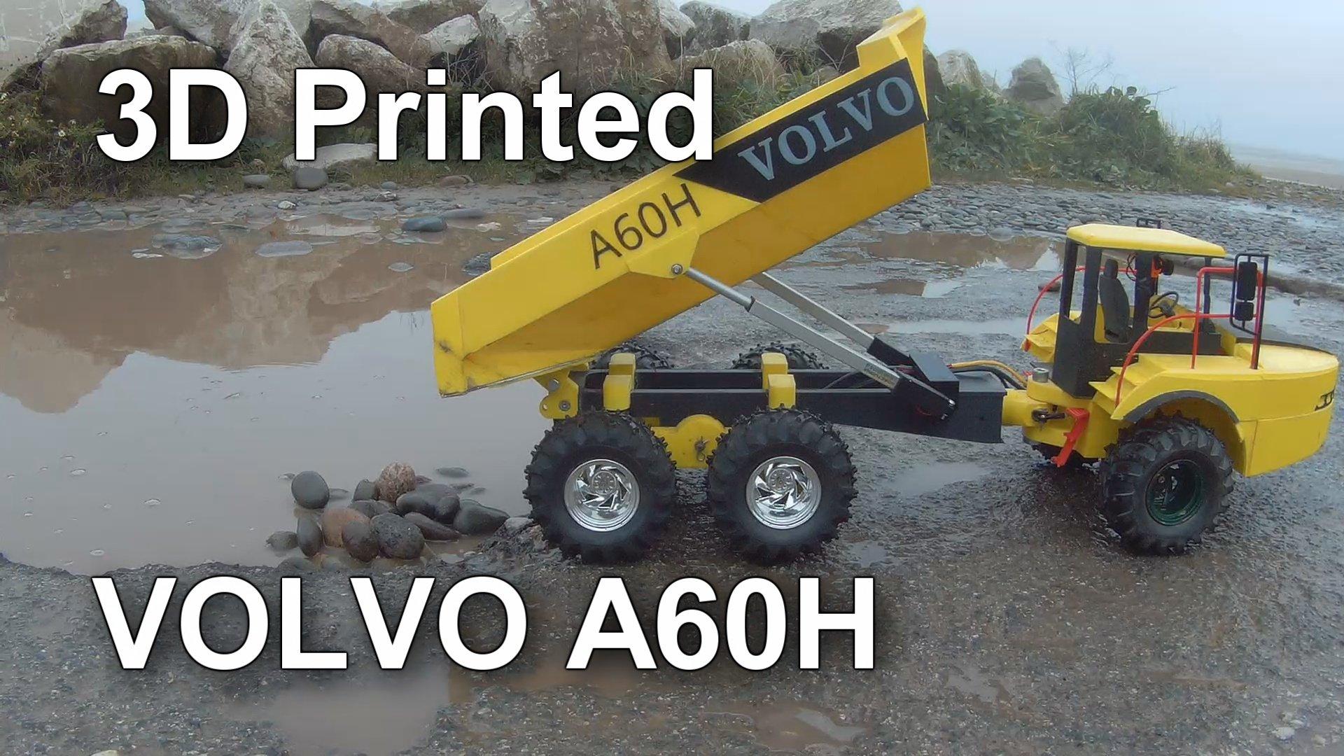 Volvo A60H RC Dump Truck