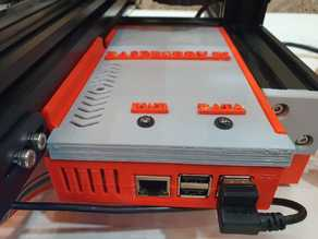 Ender 3 Pro Front Case (Raspberry Pi 3 & 4)