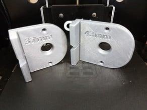 System 32mm (shelf-grid for racks) milling template