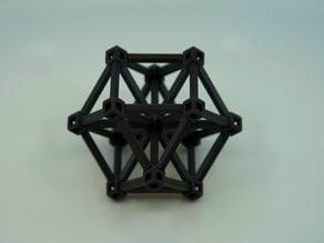 Octet truss lattice