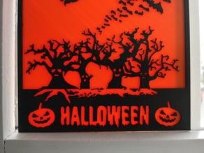 Halloween Window Panes
