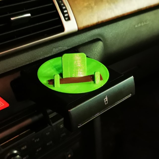 Car phone stand for cup holder (e.g. Audi)