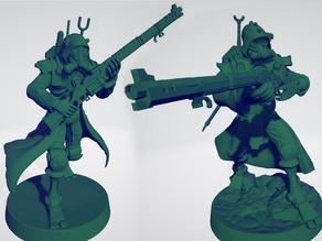 Martian Mechanized Rangers