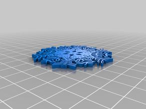 My Customized Text Snowflake Generator (Customizeable)