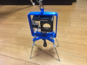 Action camera hunging stand