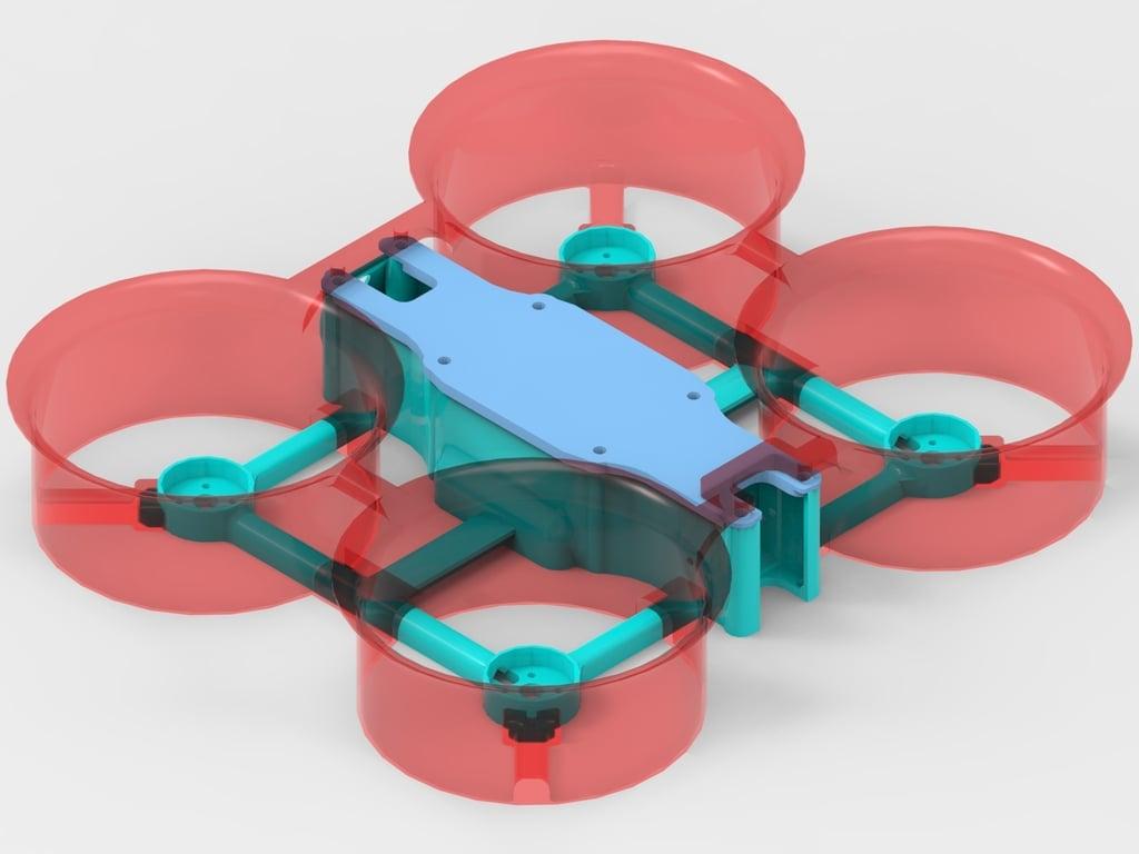Waterprof Action Drone Frame