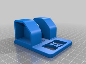 Tool Holder for medium-sized Ratchet for screws or peg board