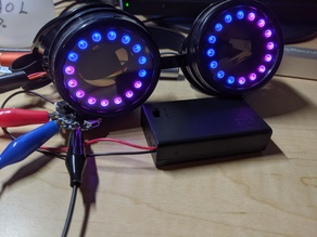 Adafruit Goggles Project Liner