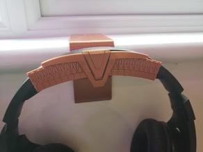 Stargate Chevron Face for headset support