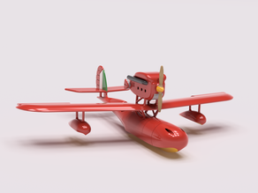 Porco Rosso Savoia S.21 Aircraft