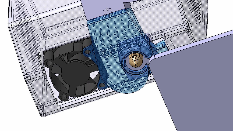 Original Snapmaker Part Cooling Fan V2.0