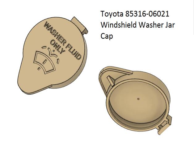 Toyota 85316-06021 Windshield Washer Jar Cap