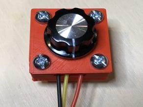 Potentiometer mount