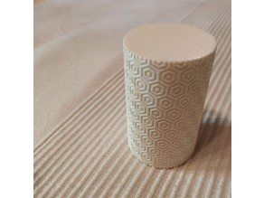 Cylinder textured box - Remix without thread