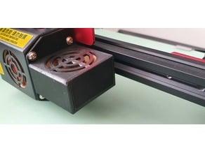 Hot end - FAN CR10S Pro