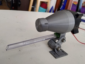 Small cyclone dust buster for Small CNC machines