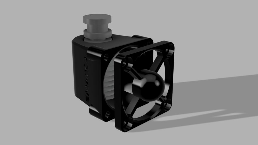 E3D Fanduct 40mm - Anycubic I3 Mega S